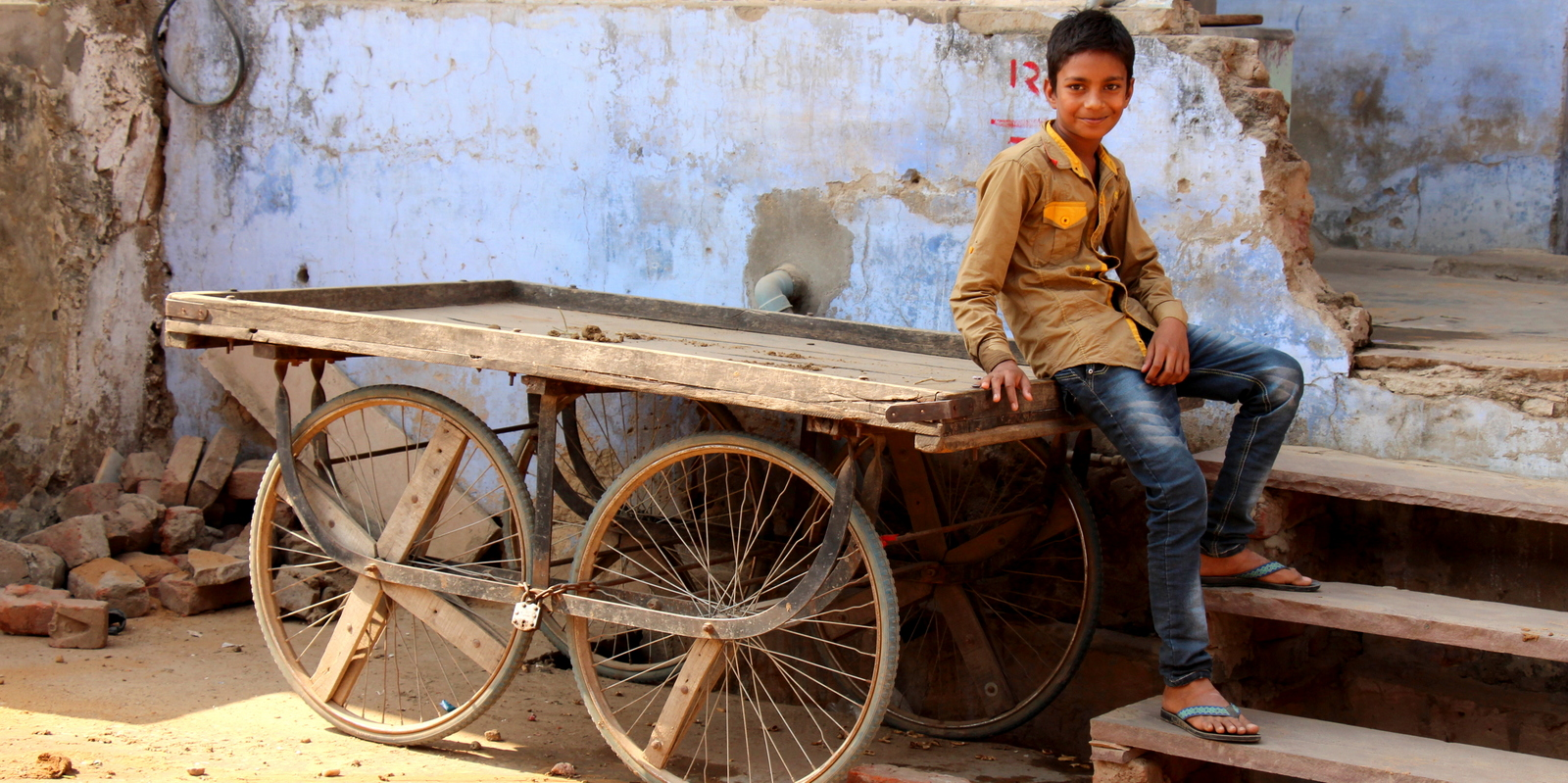 Boy in Pushkar