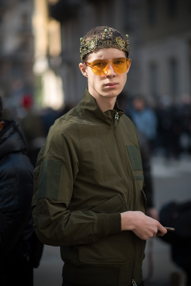 Being introverted isn't the same as being shy! Photography by Annika Lagerqvist - www.annikasomething.com - During Milan Fashion Week at Dolce & Gabbana, February 2017