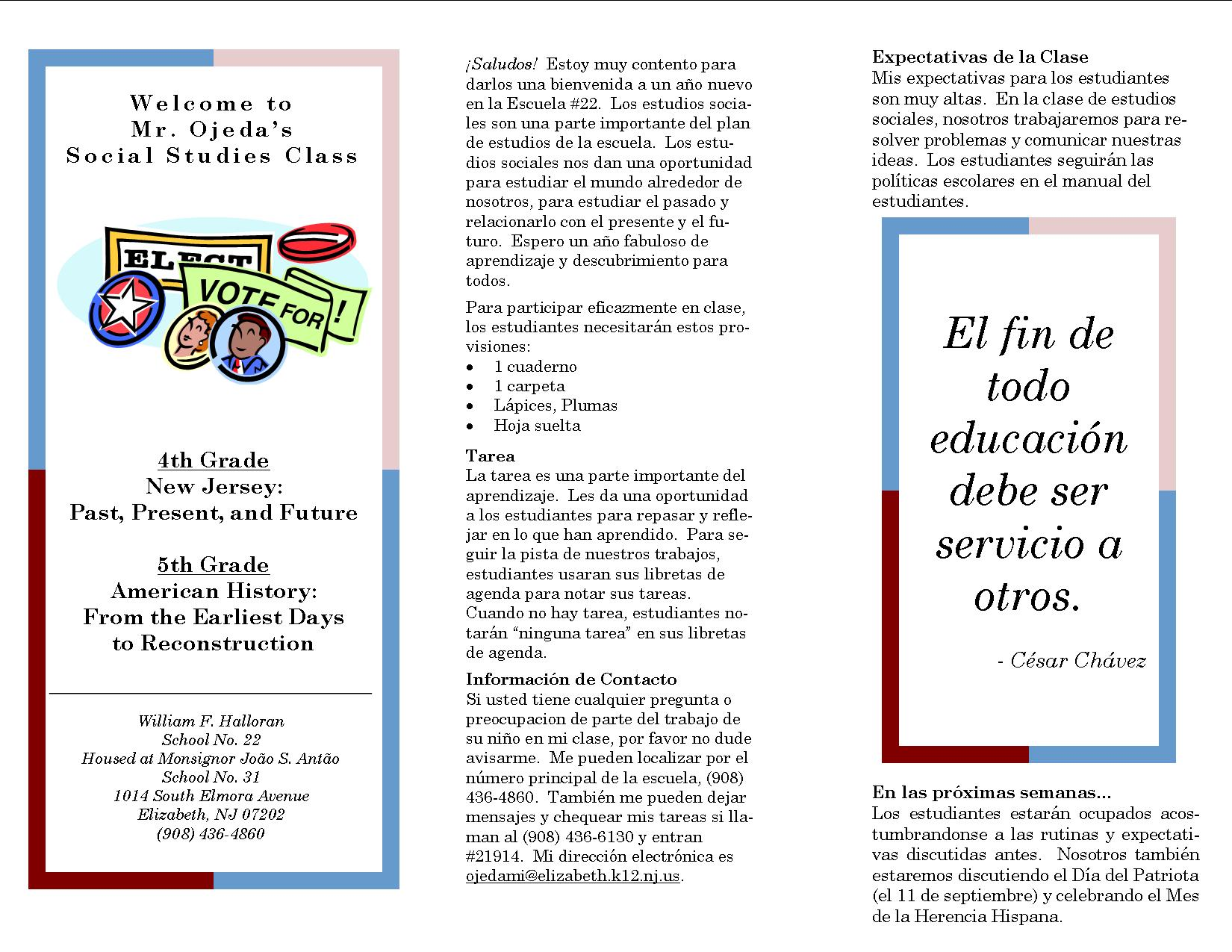 Spanish Brochure Examples Ideal Vistalist Co