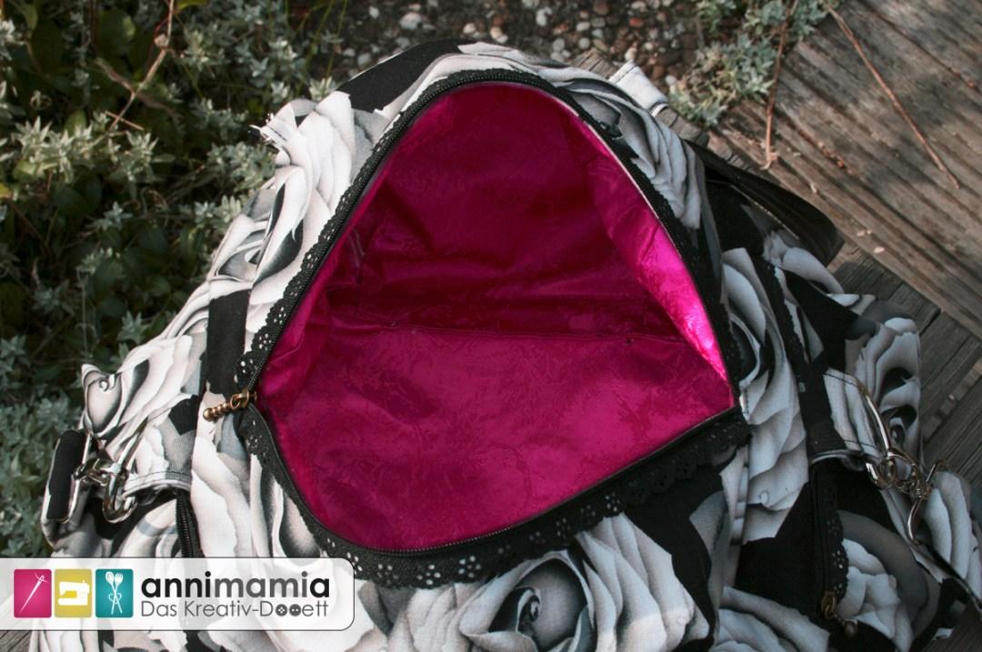 Kugeltasche Farbenmix: Innentasche