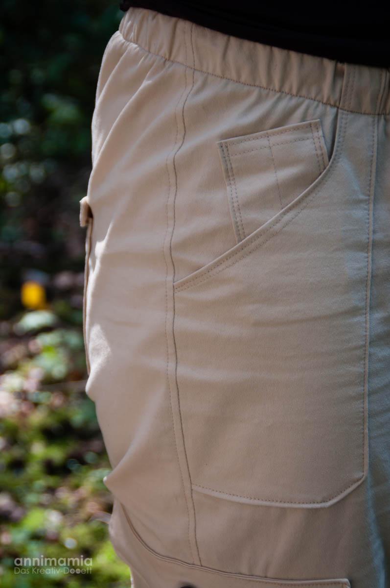Männer-/Outdoor-Hose Kaidso: Front-Tasche und Kugelschreiberfach