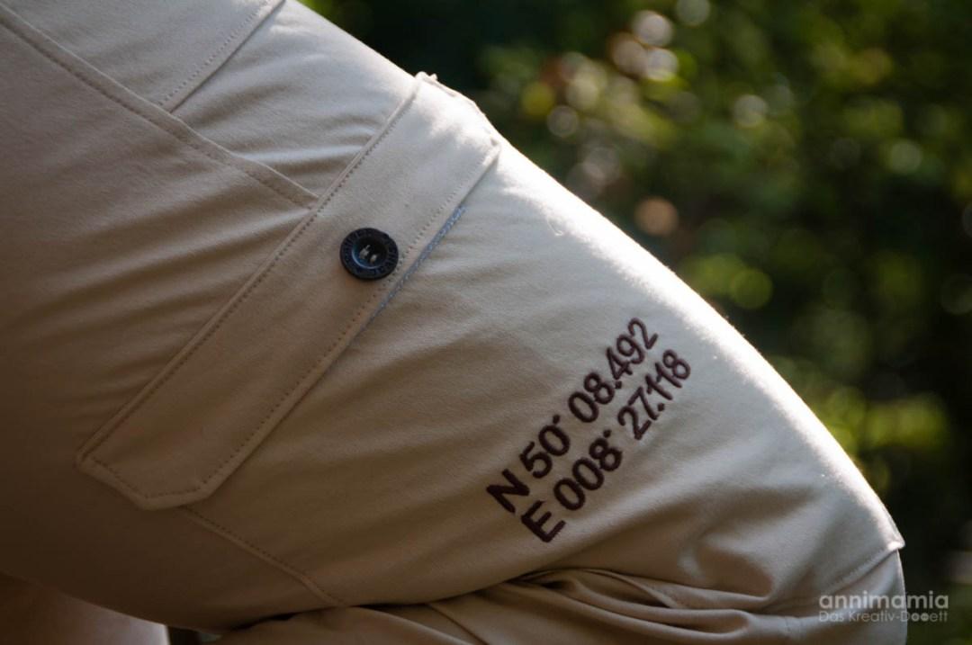 Männer-/Outdoor-Hose Kaidso: Seitentasche rechts