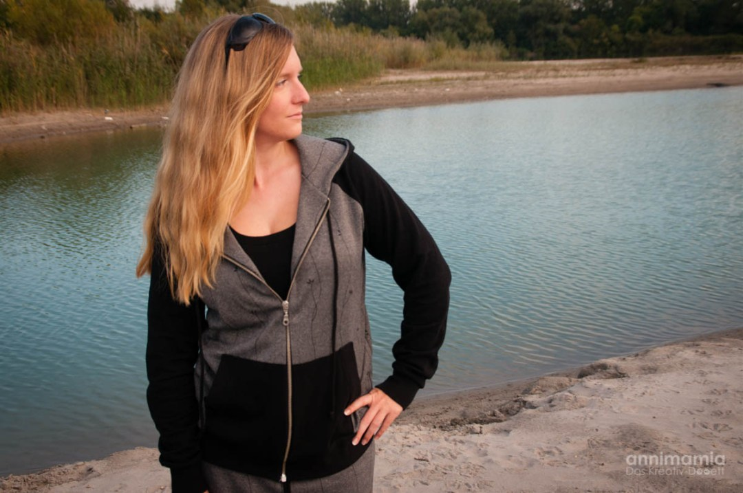Jogging-Rock Etta, Tanktop Livia und Sweatjacke Janice
