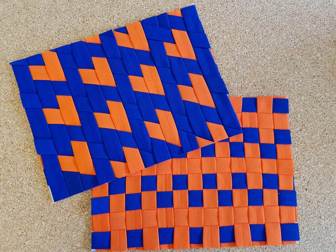 KSW 20: Vor- und Rückseite (Fabric-Weaving)