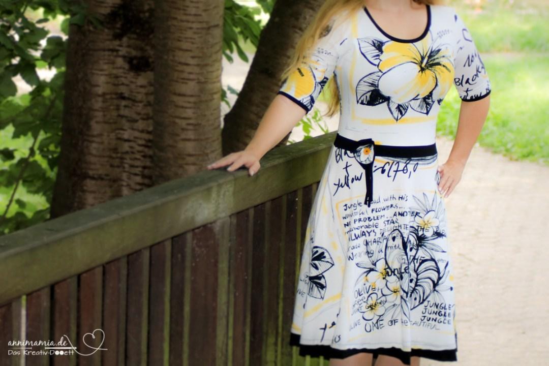 Kleid Ella von Pattydoo im Desigual-Stil