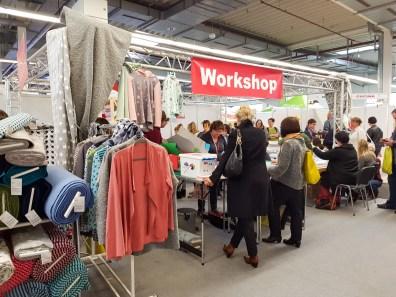 KreativAll 2017: Workshop bei Stoff-Ideen Wiesbaden