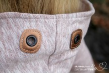 Damenhoodie Missy aus Vintage-Sweat Kupfer | annimamia.de