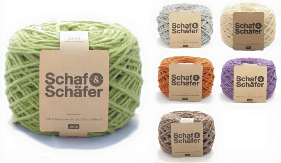 Fair produzierte, nachhaltige Wolle von Schaf & Schäfer