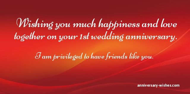 First Anniversary Wishes Happy 1st Anniversary Messages Quotes