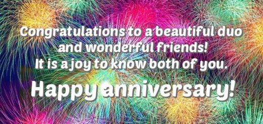 anniversary wishes for friends