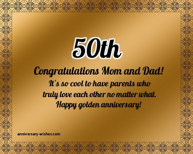 50th anniversary wishes happy 50th anniversary quotes & images