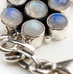 13th year anniversary gemstone theme - moonstone image