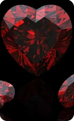 2nd year anniversary gemstone garnet image
