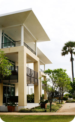 two story miami style dwelling to represent the 42nd year theme of impreved real estate