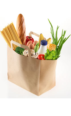 Bag of Groceries to represent the 44th year anniversary theme