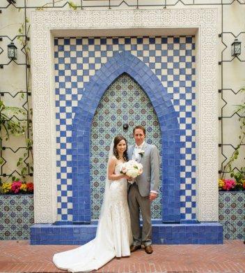 Canary Hotel Rooftop Santa Barbara Wedding