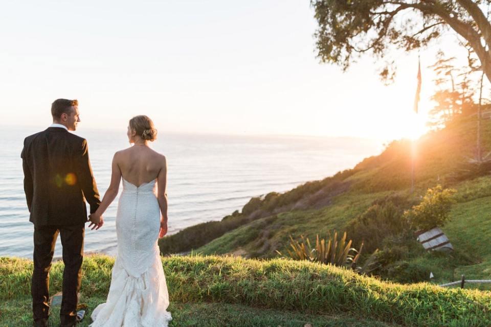 Santa Barbara Private Estate Wedding by AJE