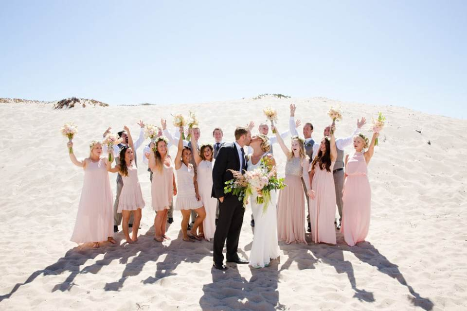 Ann Johnson Events Ventura Beach and Botanical Gardens Wedding