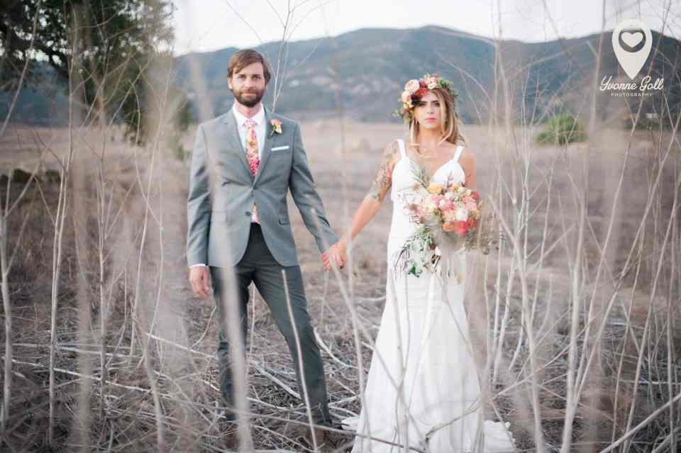 Ann Johnson Events Bohemian Santa Barbara Wedding