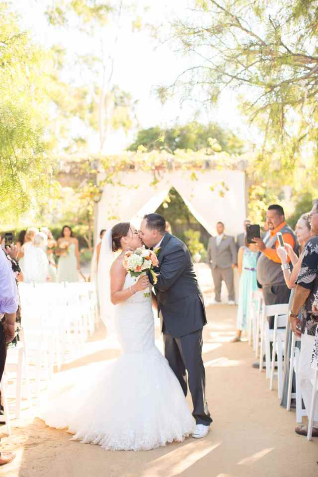 Ann Johnson Events Santa Barbara Historical Museum Wedding