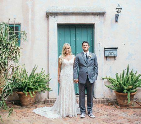 Santa Barbara Historical Museum Wedding by Ann Johnson Events