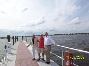 Cash Adams, Bill Zeigler, Bob Caffrey