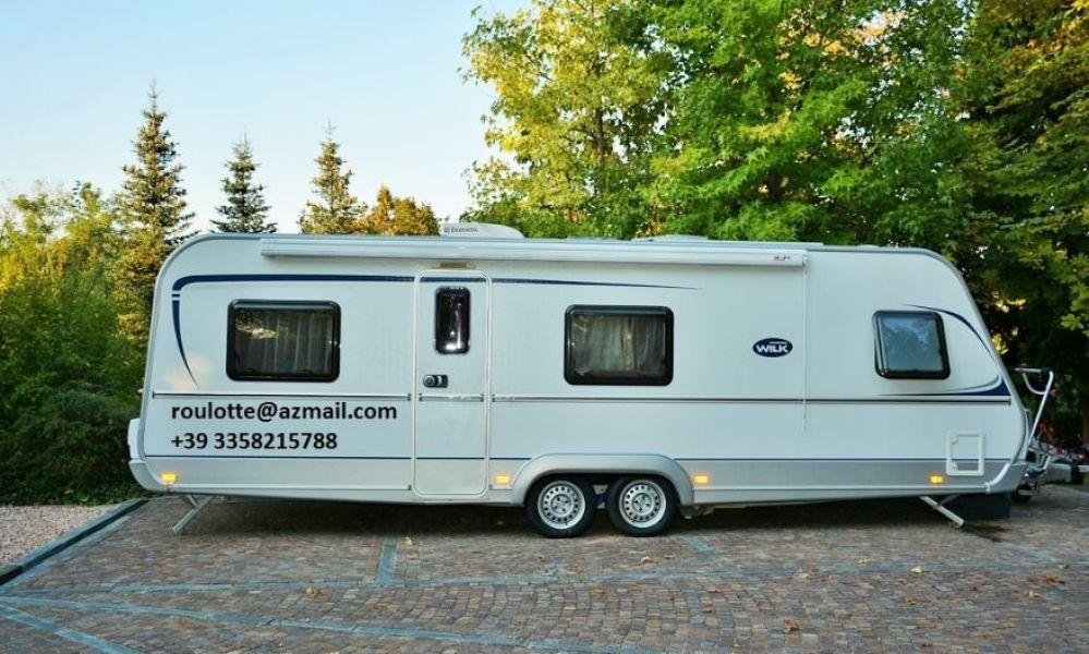 Roulotte Caravan Wilk Vida 700 DM Usato Euro 28500 Milano