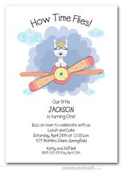 second birthday party invitations
