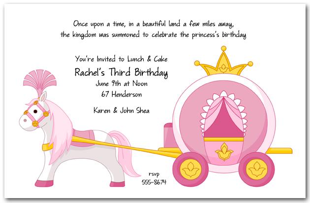 pink princess carriage