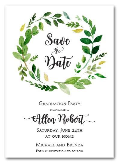 Reserve Date Invitations
