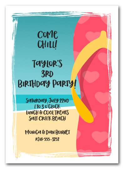 Tropical Party Menu Ideas