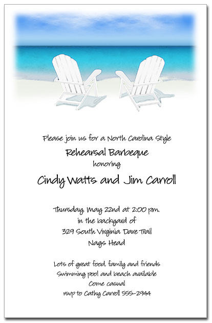 adirondack chairs on sale slipcovers for dining room with rounded backs white the beach party invitations