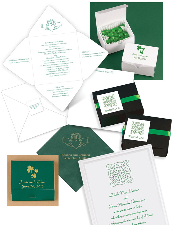 Celtic Wedding Invitations And Favors That Celebrate