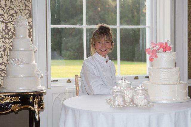 Ann's Designer Cakes Custom Wedding Cakes