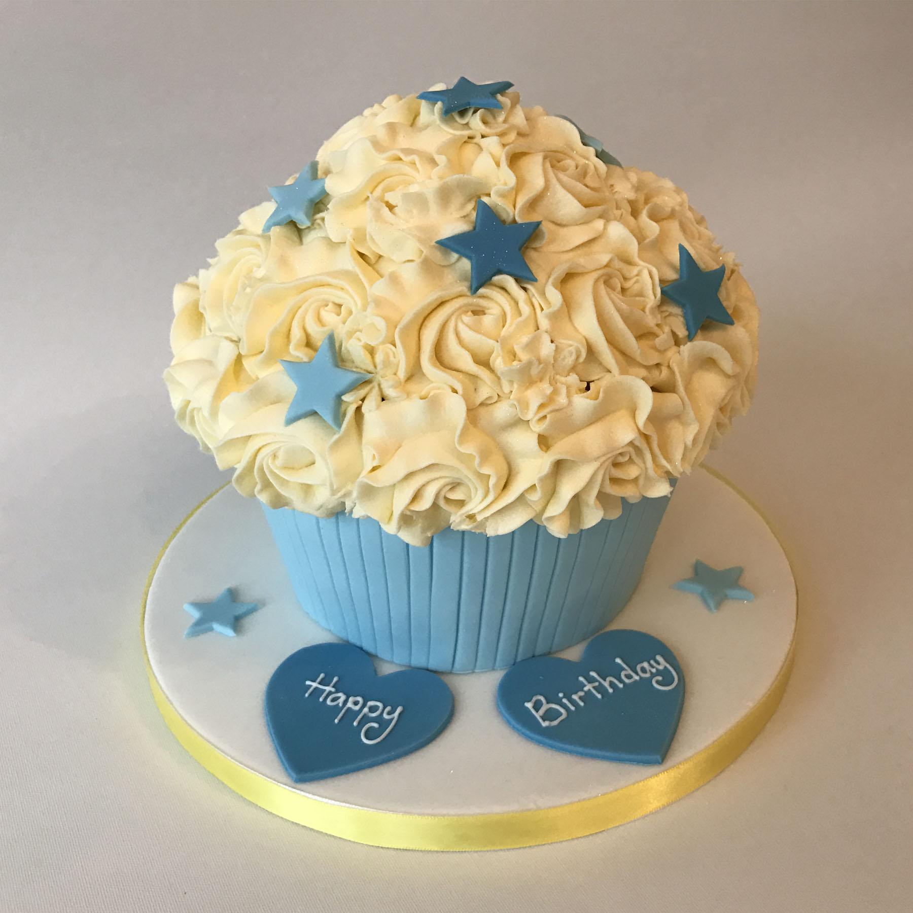 Super Giant Cupcake Anns Designer Cakes Funny Birthday Cards Online Aboleapandamsfinfo