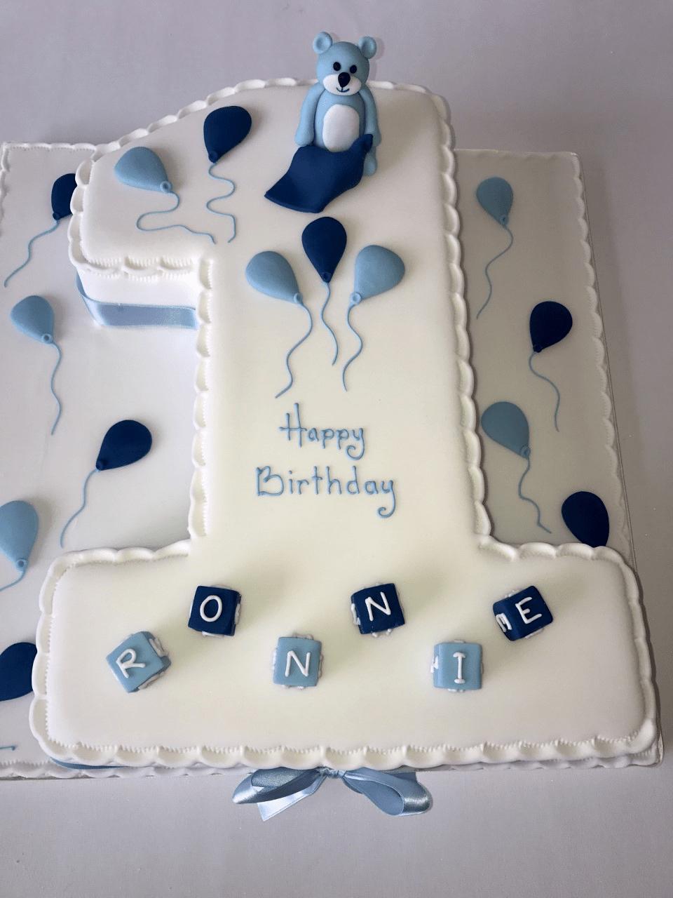 Boys Number 1 – Ann's Designer Cakes