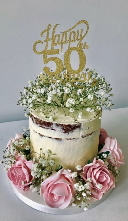 Pleasing Womens 50Th Birthday Cake Archives Anns Designer Cakes Funny Birthday Cards Online Inifofree Goldxyz