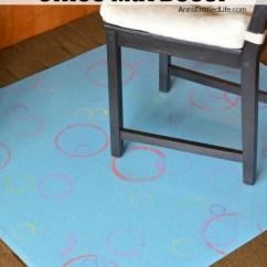 Diy Chair Mat For Hardwood Floor Boon High Pink Easy Office Decor