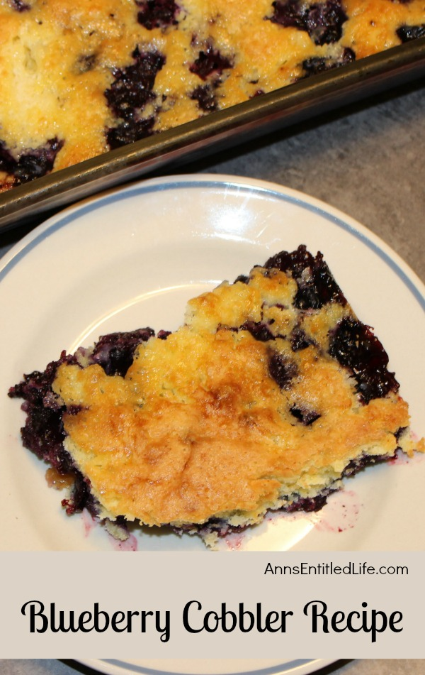 Canned Blueberry Cake Recipe