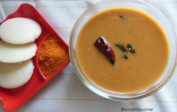 Coconut Sambar | Tiffin Sambar