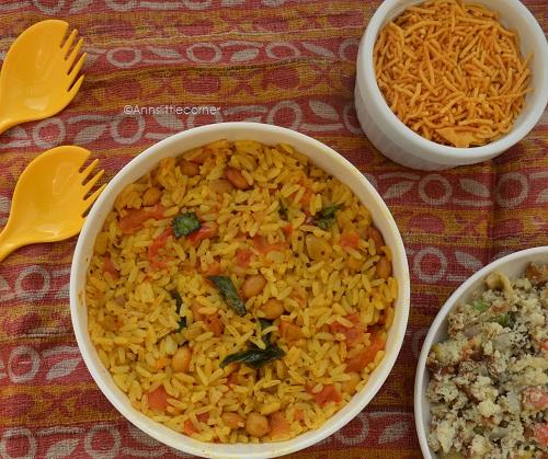 Tomato Rice, Thakkali Sadam
