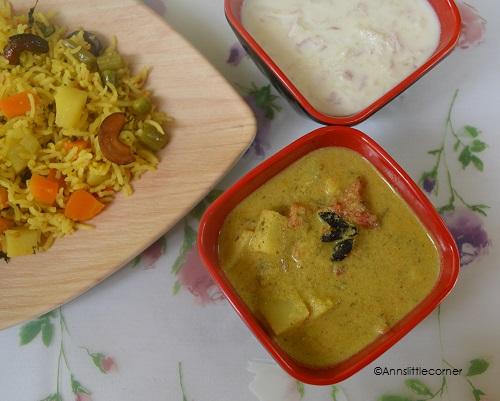Potato Kurma, Aloo Korma