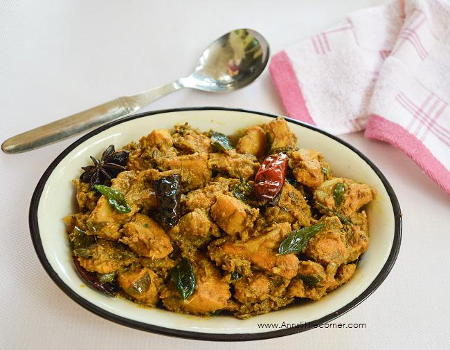 Spicy Chicken Chukka | Chicken Chukka Varuval
