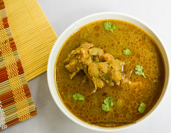 Coriander Chicken Curry | Kothamalli Chicken Curry