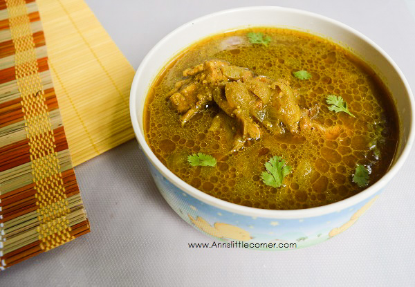 Coriander Chicken Curry