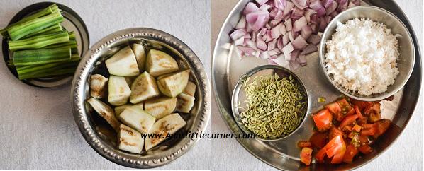 Chettinad Masala Kuzhambu step 1