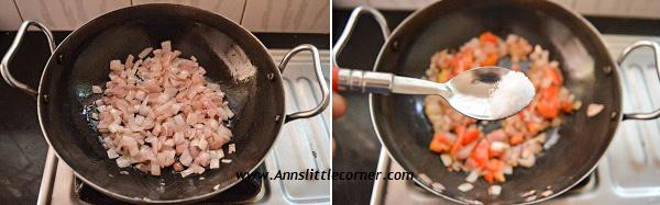 Chettinad Masala Kuzhambu step 2