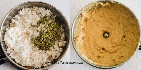 Chettinad Masala Kuzhambu step 3