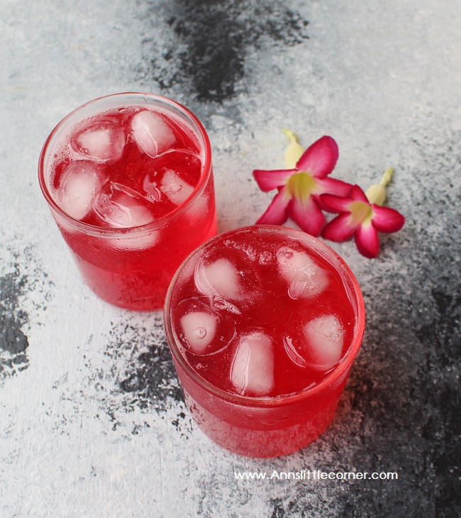 Rose Almond Gum Juice