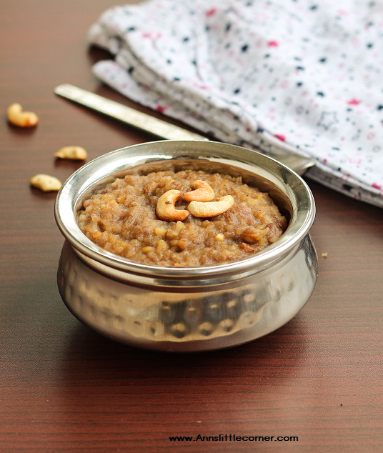 Aval Sakkarai Pongal / Poha Sweet Pongal
